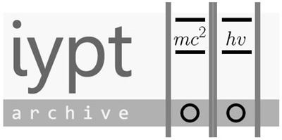 IYPT Archive]